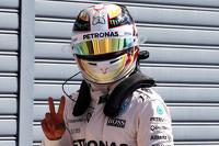 Polesitter: Lewis Hamilton, Mercedes AMG F1 Team