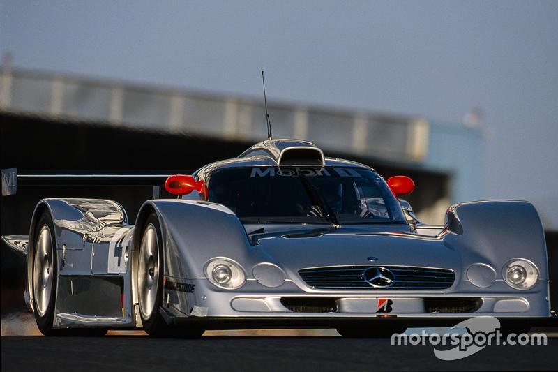#4 AMG Mercedes CLR LMGTP: Mark Webber, Marcel Tiemann, Jean-Marc Gounon