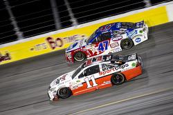 A.J. Allmendinger, JTG Daugherty Racing Chevrolet and Denny Hamlin, Joe Gibbs Racing Toyota