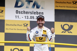 Podium: Winner Timo Glock, BMW Team MTEK BMW M3 DTM
