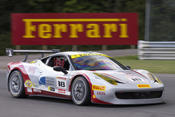 #18 Ferrari of San Francisco Ferrari 458TPAM: James Weiland