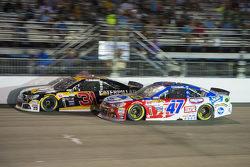 Ryan Newman, Richard Childress Racing Chevrolet and A.J. Allmendinger, JTG Daugherty Racing Chevrolet
