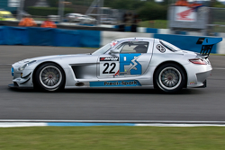 #22 Preci-Spark Mercedes AMG SLS GT3: David Jones, Godfrey Jones