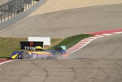 Spin for #16 BAR1 Motorsports Oreca FLM09: Todd Slusher, John Falb