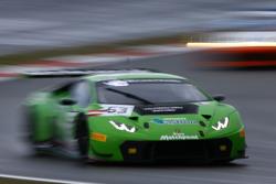 #63 GRT Grasser Racing Team Lamborghini Huracan GT3: Giovanni Venturini, Adrian Zaugg, Mirko Bortolotti