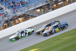 Dakoda Armstrong, Richard Petty Motorsports Ford and Martin Roy and Jimmy Weller, King Autosports Chevrolet