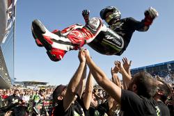 El Campeón del Mundo de Superbike 2015 Jonathan Rea, Kawasaki
