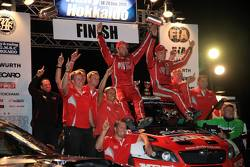 Winner: Pontus Tidemand and Emil Axelsson, Skoda Fabia S2000, Team MRF