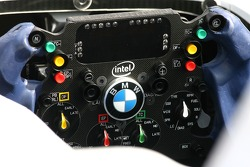 BMW Sauber F1 Team, steering wheel