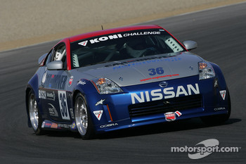 #36 Car and Driver NoHotWire Racing Nissan 350Z: Richard Biscevic, Aaron Robinson, Thomas Lepper