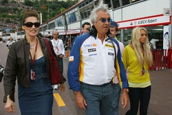 Slavica Ecclestone, Wife to Bernie Ecclestone, Flavio Briatore, Renault F1 Team, Team Chief, Managing Director and Petra Eccelstone