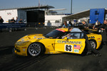Corvette Racing Corvette at scrutineering