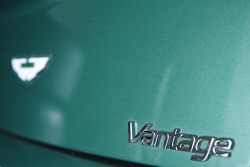Detail of an Aston Martin Vantage V8