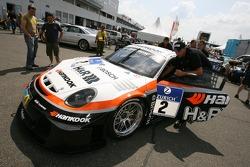 Hankook / H & R Spezialfedern Porsche Cayman