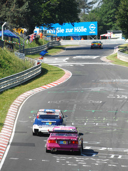 Qualifying action near the Karussell