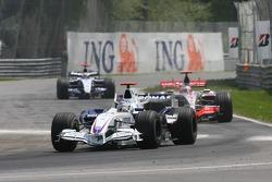 Nick Heidfeld, BMW Sauber F1 Team, F1.07 and Nick Heidfeld, BMW Sauber F1 Team, F1.07