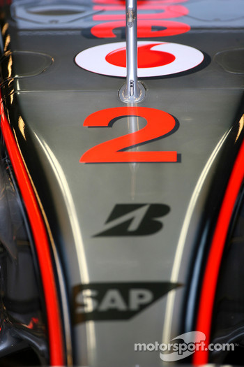 Lewis Hamilton, McLaren Mercedes, MP4-22, Number 2