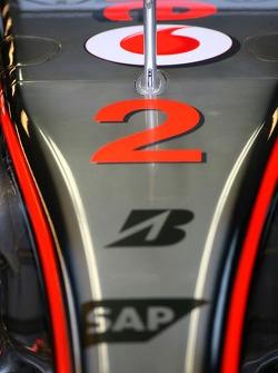 Lewis Hamilton, McLaren Mercedes, MP4-22, Number 2