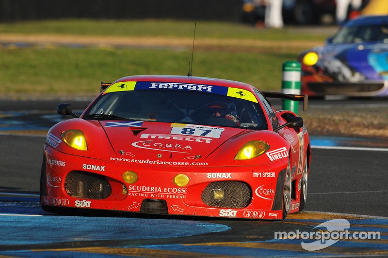 #87 Scuderia Ecosse Ferrari 430 GT Berlinetta: Chris Niarchos, Tim Mullen, Andrew Kirkaldy