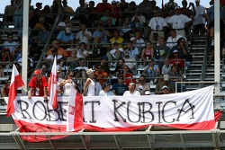 Robert Kubica,  BMW Sauber F1 Team, fan club