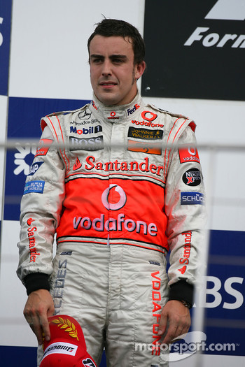 2nd place Fernando Alonso, McLaren Mercedes