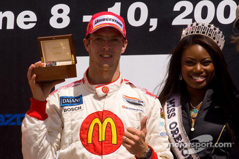 Sébastien Bourdais and Miss Oregon