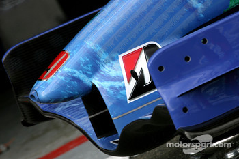 Honda Racing F1 Team front wing detail