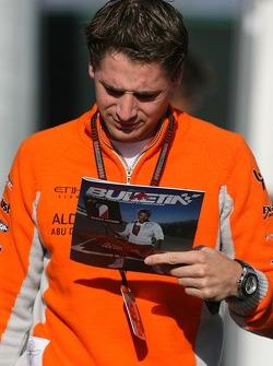 Christijan Albers, Spyker F1 Team