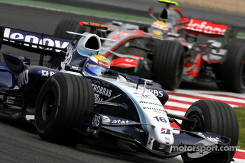 Nico Rosberg, WilliamsF1 Team, Lewis Hamilton, McLaren Mercedes
