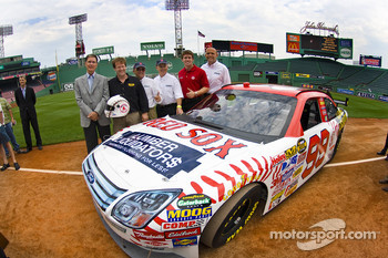 Roush Fenway Racing announced that Boston Red Sox sponsors, Lumber Liquidators and Gillette, have signed on as sponsors of the No. 99 Ford Fusion driven by Carl Edwards during this weekend's race at New Hampshire International Speedway