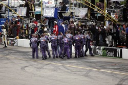 The Fedex Chevy crew celebrates Denny Hamlin's win