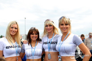 The lovely Embassy Racing girls