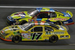 Matt Kenseth and Kyle Busch