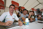 Simon Pagenaud and Robert Doornbos