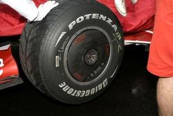 Scuderia Ferrari, F2007, detail