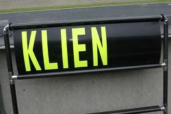 Christian Klien, Spyker F1 Team, Pitboard