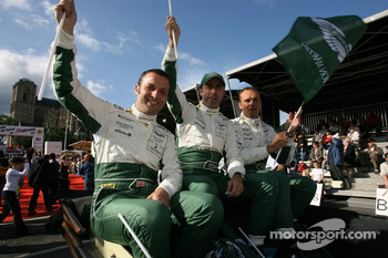 Darren Turner, David Brabham and Rickard Rydell