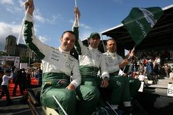 Darren Turner, David Brabham and Rickard Rydell