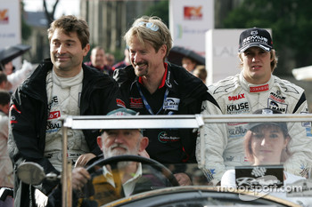 Jean De Pourtales, Tony Burgess and Norbert Siedler