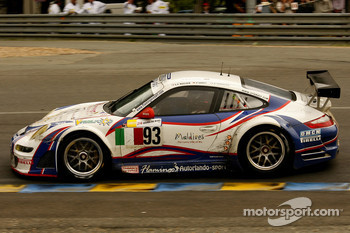 #93 Autorlando Sport Porsche 997 GT3-RSR: Lars-Erik Nielsen, Allan Simonsen, Pierre Ehret