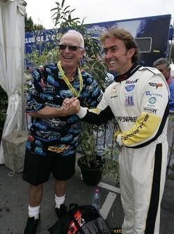 Corvette Racing Corvette C6.R team member and Olivier Beretta