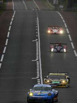 #71 Seikel Motorsport Porsche 997 GT3-RSR: Philip Collin, Horst Felbermayr, Horst Felbermayr Jr.