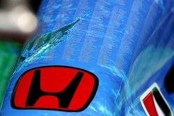 Honda Racing F1 Team, RA107, Nose