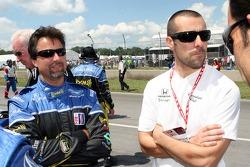 Michael Andretti and Dario Franchitti