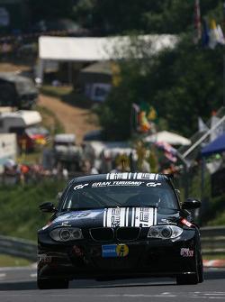 #69 Dörr Motorsport BMW 130i: Rudi Adams, Gregor Vogler