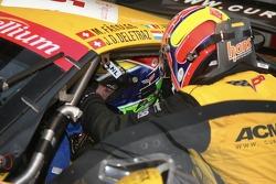Pitstop for #5 Carsport Holland Corvette C6R: Jean-Denis Deletraz, Mike Hezemans, Fabrizio Gollin, Marcel Fassler