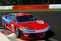 #50 AF Corse Motorola Ferrari 430 GT2: Toni Vilander, Dirk Muller, Mika Salo