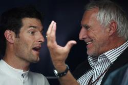 Mark Webber, Red Bull Racing and Dietrich Mateschitz, owner of Red Bull