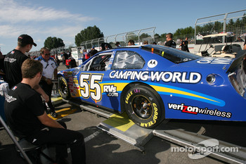 Camping World Ford at tech inspection