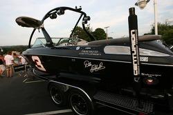 Centurion boats display at the Watkins Glen fan fest